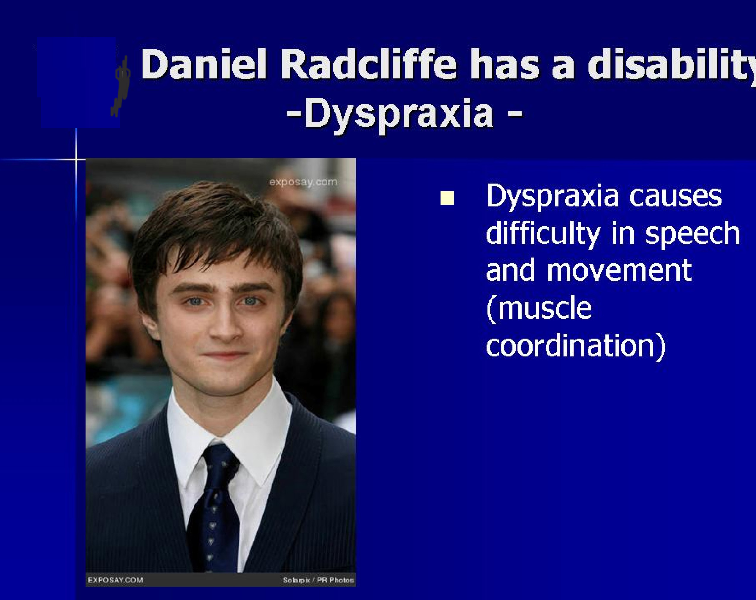 Dyspraxia dating