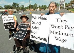 Goodwill protest