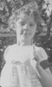 Donna Williams.  Age 7